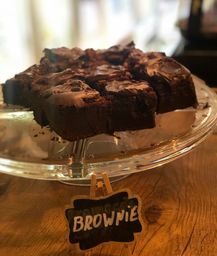 Brownie de Nutella Pedaço
