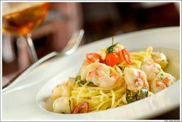 Spaghetti Aglio Olio Gamberi
