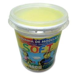 Massa De Modelar Soft 7350 - Amarelo Limão
