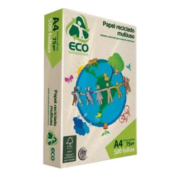 Papel Eco Mille A4 210X297 75 g