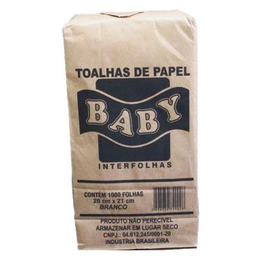 Papel Toalha Interf 2D 20X21Branco