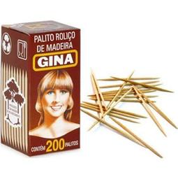 Palito Dente Gina 200 Und