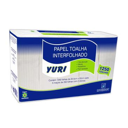 Papel Interfolha Yuri 1250 Und