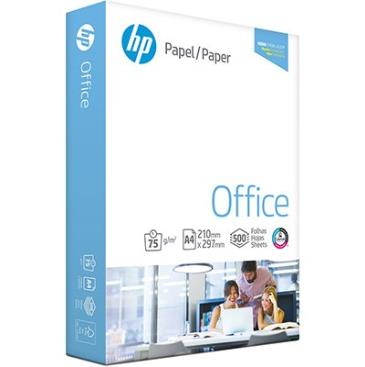 Papel sulfite HP Office A4 210 mm x 297 mm Ipaper 75 g