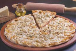 PIZZA DO DIA: Frango com catupiry + Borda recheada de catupiry