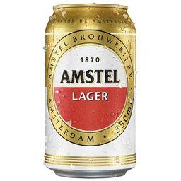 Cerveja Amstel 350ml.