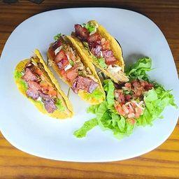Tacos de Frango (3 unidades)