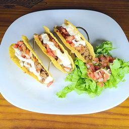 Tacos de Carne (3 unidades)