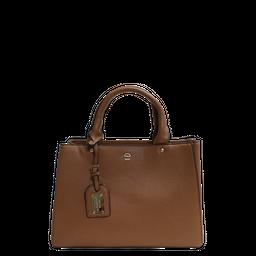 Bolsa Mão E Transversal Hand Bag Col Do Des Le Postiche Caramelo