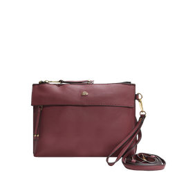 Bolsa Mão E Transversal Soft Basic Relax Rosa