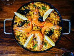 Paella Frutos do Mar