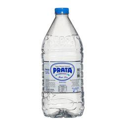 Água Mineral Prata Sem Gás 2,5 L