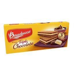 Wafer Bauducco Triplo Chocolate 140 g