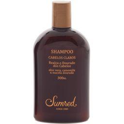 Shampoo Cabelos Claros Aloe Vera, Camomila Macela Dourada 300 mL