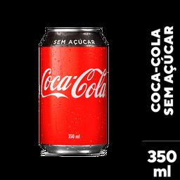 Refrigerante Coca Cola Zero Lata 350 mL