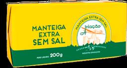 Manteiga Extra Aviacão Sem Sal 200 g
