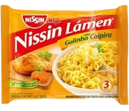 Miojo Nissin Galinha Caipira 80 g