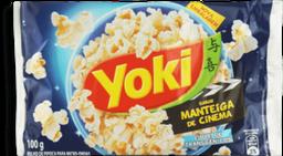 Pipoca Yoki Para Microondas Manteiga 100 g