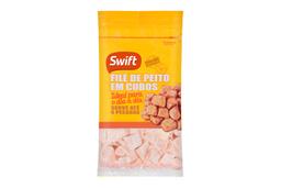 Filé De Peito Em Cubos Swift 1 Kg