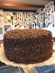 Torta Inteira de Brigadeiro