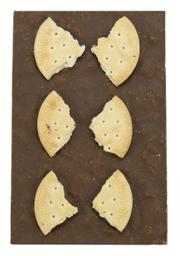 Barra De Chocolate Ao Leite Com Bolacha Maria The Goodies 125 g
