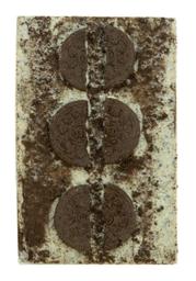 Barra De Chocolate Branco Com Oreo The Goodies 125 g