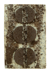 Barra De Chocolate Branco Com Oreo The Goodies 125 g