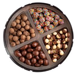 Lata com mix de chocolates 400g