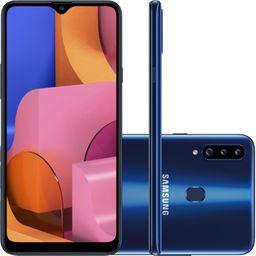 Galaxy A20S Azul