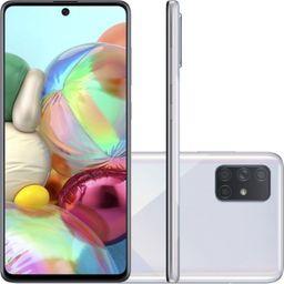 Galaxy A71 128Gb Prata
