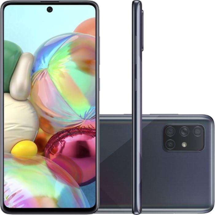 Smartphone Samsung A715 Galaxy A71 128 Gb Preto - Celular
