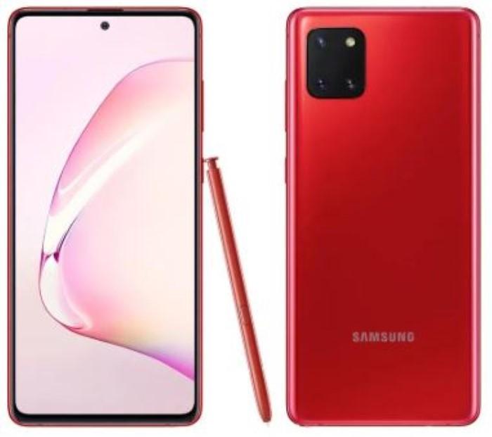 Galaxy Note10 Lite 128Gb Vermelho