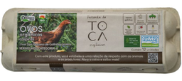Fazenda da Toca Orgânico Brasil Ovo Eco Toca C 12
