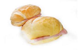 Pão Francês com Presunto - Unidade