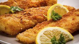 Peixe a milanesa p/ 2 pessoas