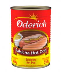Oderich Salsichas Hot Dog