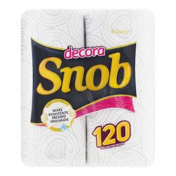 Snob Papel Toalha Decorado 60 Fl