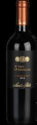 3 Medallas Vinho Chilen Tinto Tres Medalhas Carmenere