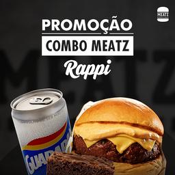 Combo Burger Classic com Brownie e Guarapan