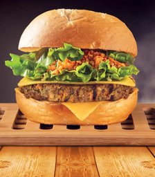 Green burger vegetariano