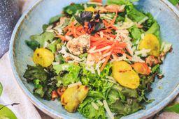 Salada de Frango ao Curry