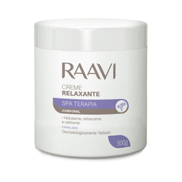 Creme Relaxante Spa Raavi 500 g