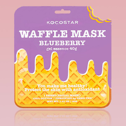 Máscara Kocostar Waffle De Blueberry