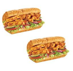 2x1: Sanduíche 15cm