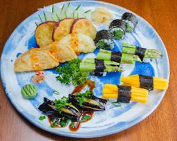 Combinado Vegetariano do Chefe 17 Peças