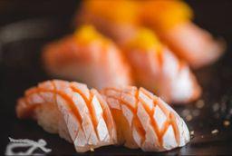 Sushi Barriga de Salmão Trufado