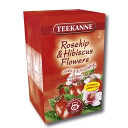 Chá Teekanne Rosehip Hibisco 70 g