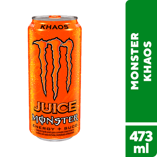 Khaos Monster Energético Energy 473 Ml