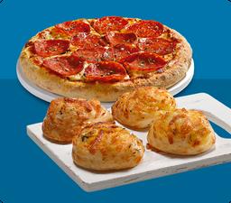Combo Pizza Brotinho e Alho Roll