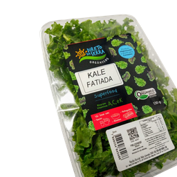 Kale Fatiada Higiênizada Orgânica Ds 130 g